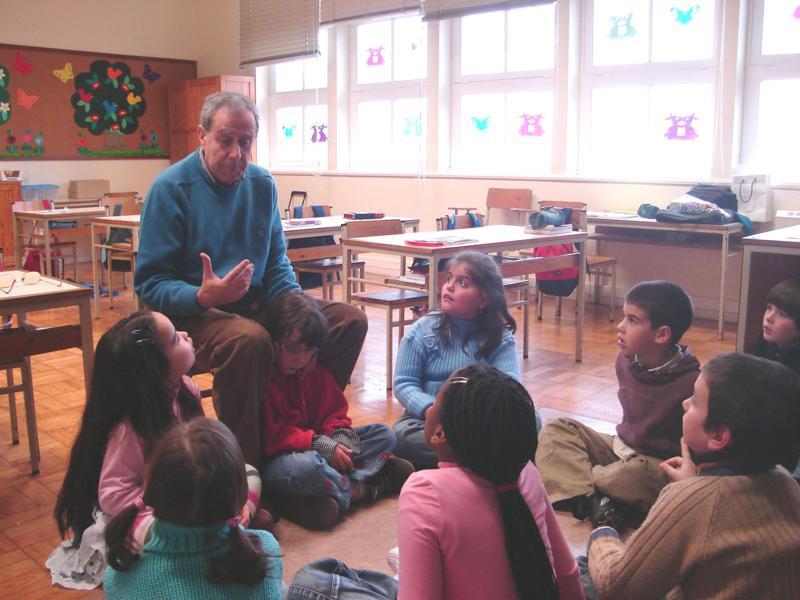 """Pedro Pimenta """"Reformei-me do trabalho, não da vida"""". Actividades desenvolvidas, Voluntariado, Ensino, Cuidados e Apoio"""